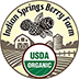 Indian Springs Berry Farm Sticky Logo